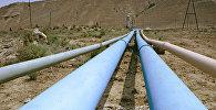 Нефтепровод на территории Азербайджана