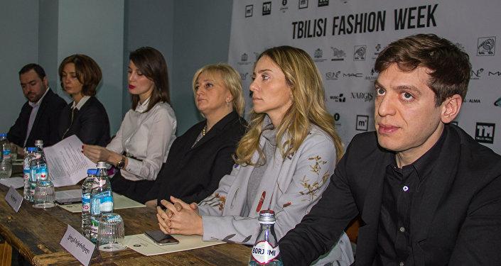Пресс-конференция организаторов Тбилисской Недели моды Tbilisi Fashion Week
