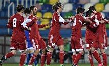 Молодежная сборная Грузии по футболу разгромила Сан-Марино