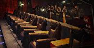 Зрительский зал кинотеатра