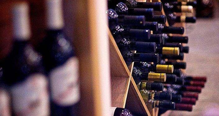 Магазин вина в Тбилиси