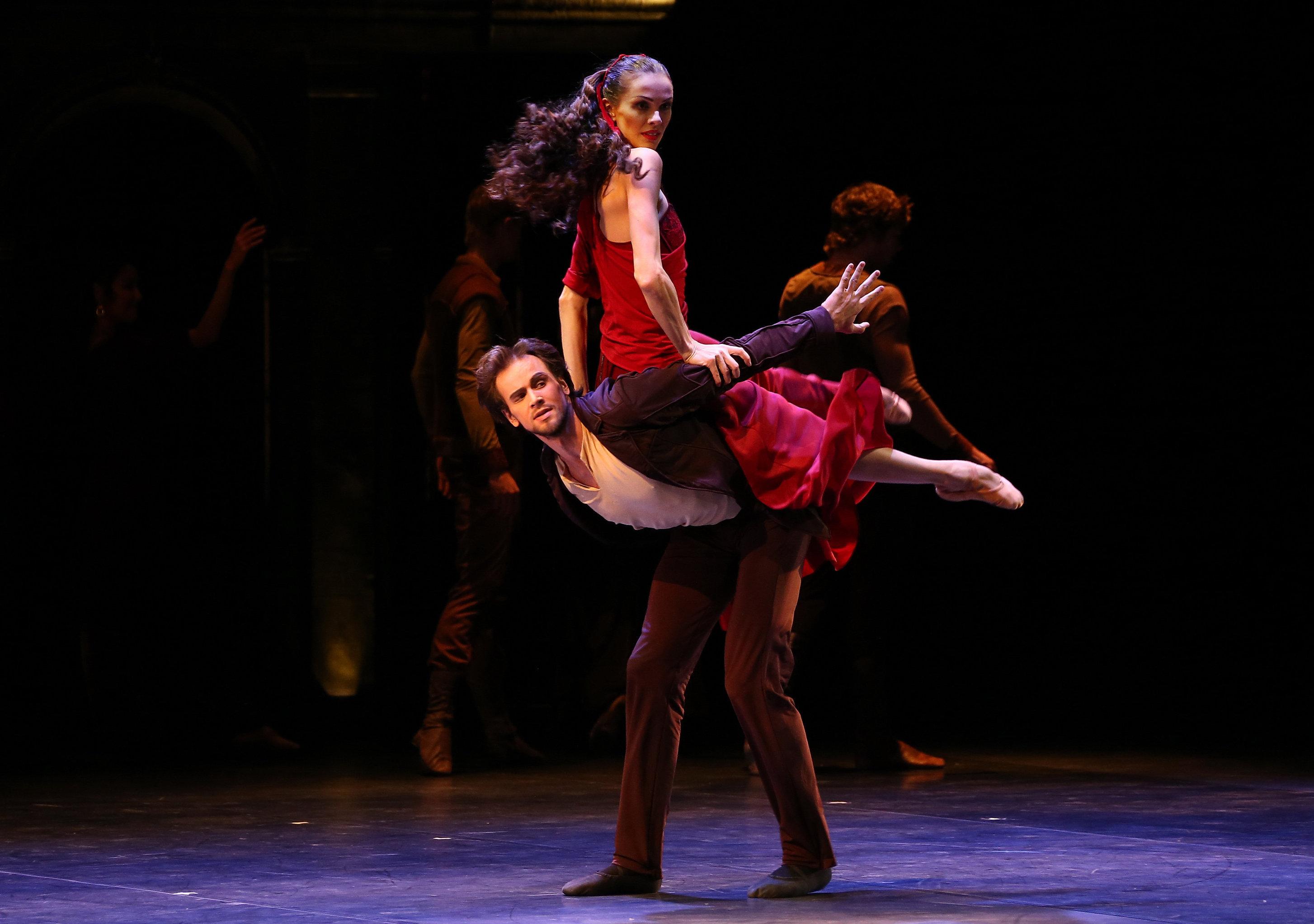 Премьера балета По ту сторону греха