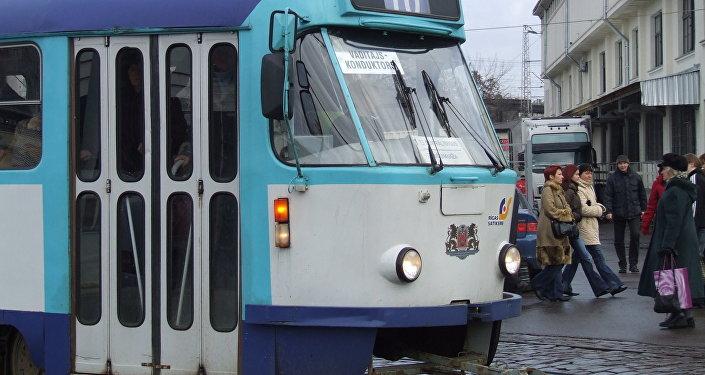 Трамвай в Латвии