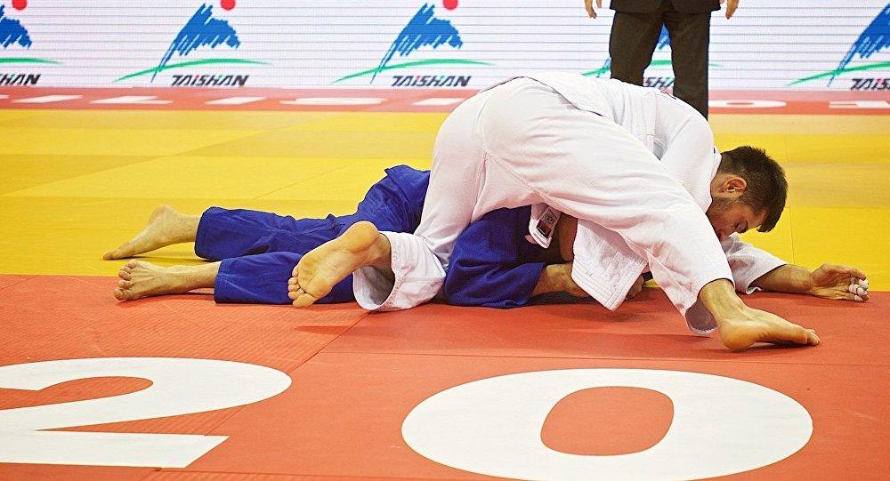 Алан Хубецов завоевал бронзовую медаль натурнире подзюдо вАбу-Даби