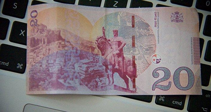 Новая банкнота номиналом 20 лари