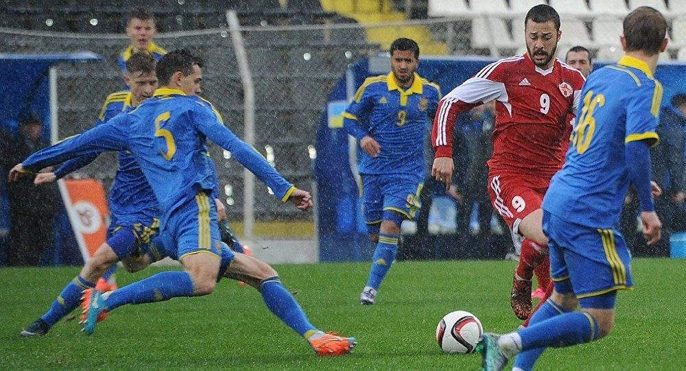 Футбол. Сборные U-21 Грузии и Украины