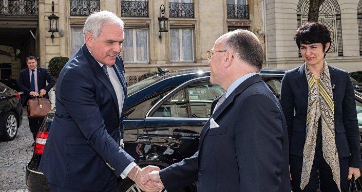 Визит главы МВД Грузии Георгия Мгебришвили во Францию