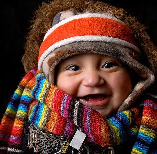 Смеющийся младенец