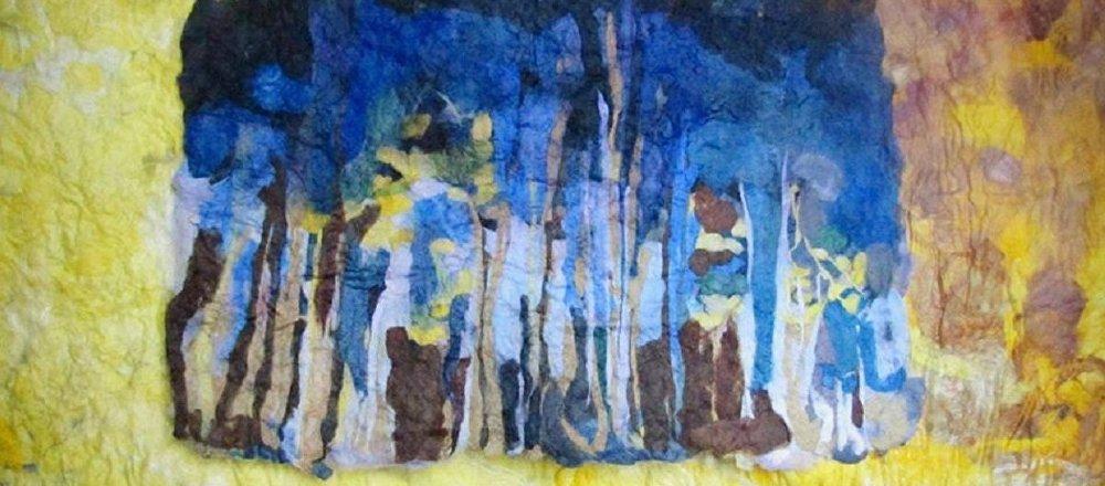 აუტისტ ანა ბეთლემიშვილის ნახატი