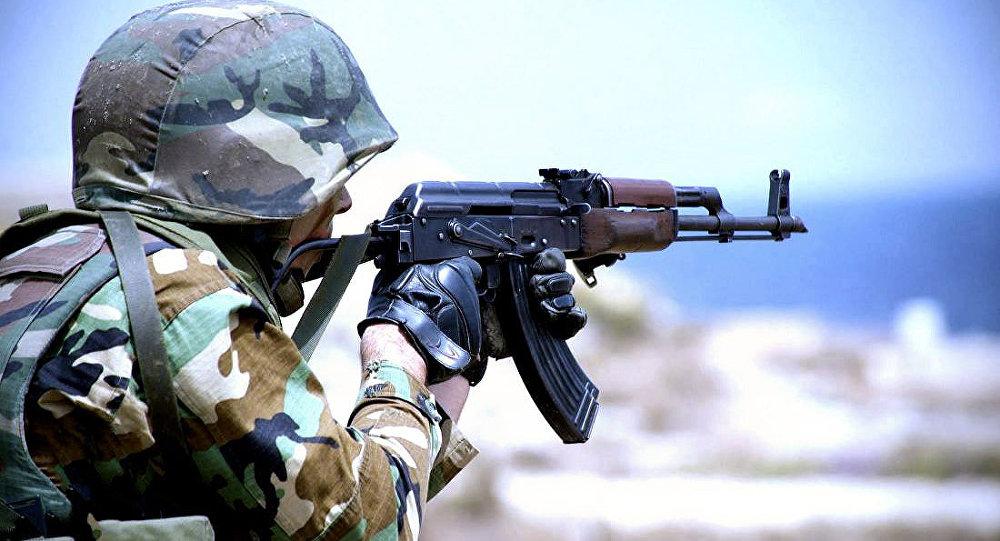 აზერბაიჯანელი სამხედრო მოსამსახურე