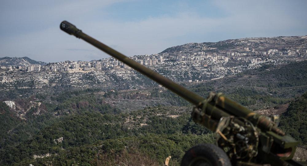 Сирийская армия в провинции Идлиб, архивное фото