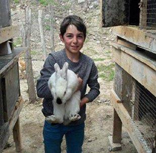 Юный фермер Шако Мешвелашвили