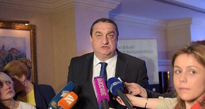 Глава Партнерского фонда Грузии Давид Саганелидзе