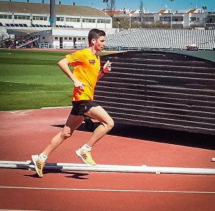 Давид Харазишвили - первый марафонец в истории Грузии, завоевавший лицензию на Олимпийские игры.