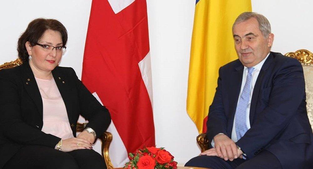 Тинатин Хидашели в Румынии