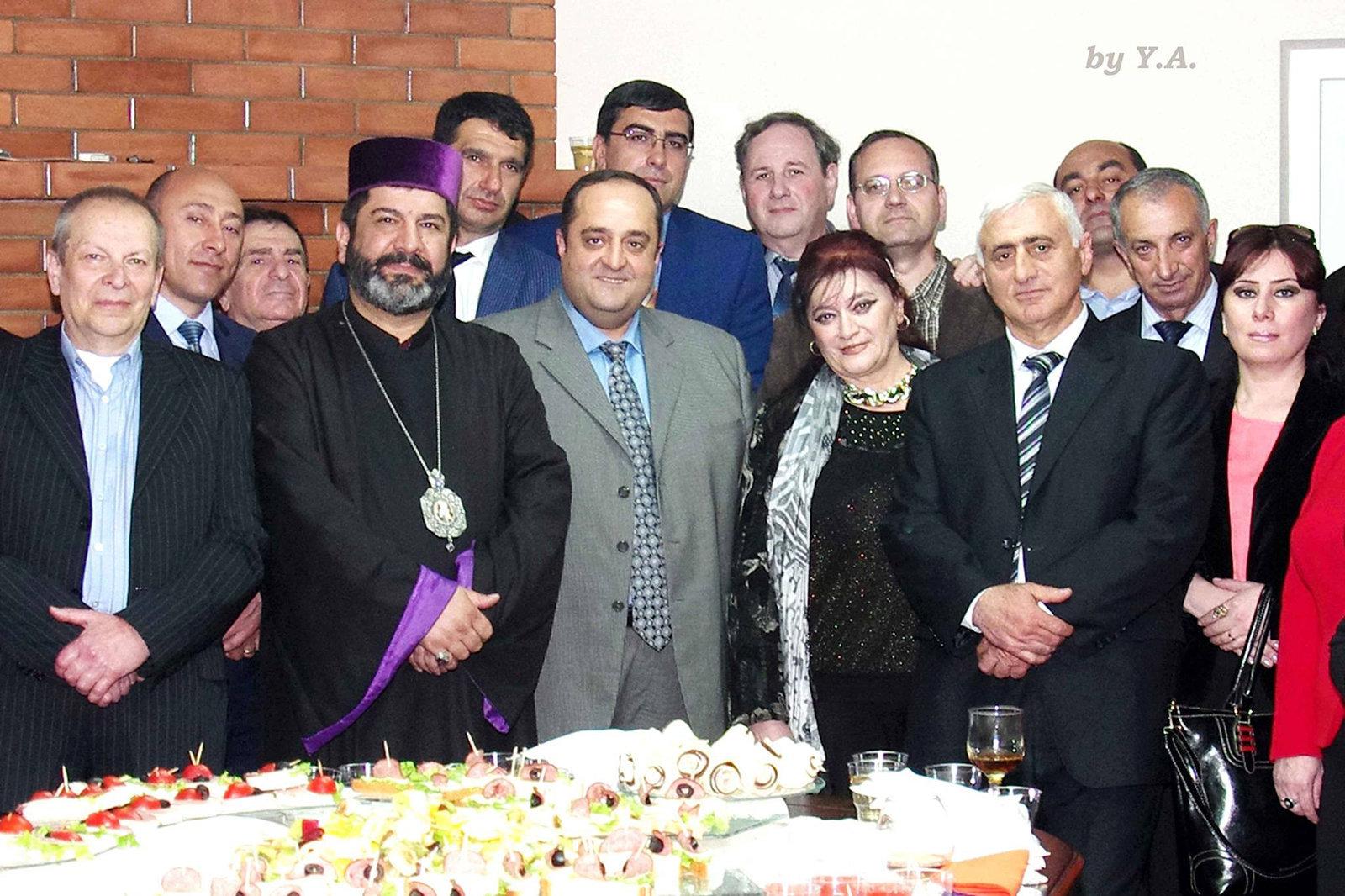 Прощальная встреча с представителями Армянской общины Грузии