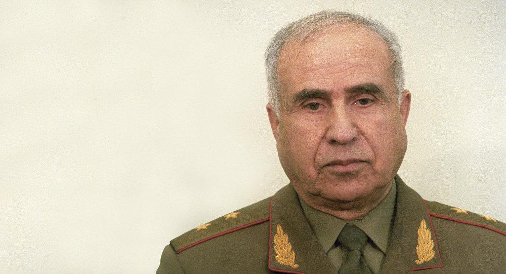 Генерал-лейтенант в отставке Керим Алиевич Керимов