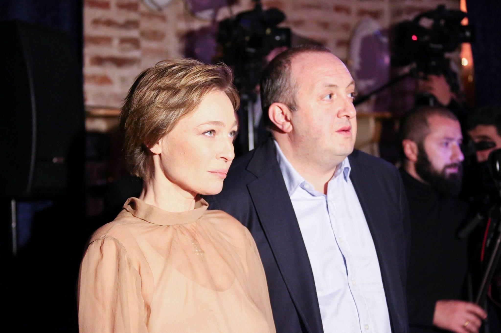 Георгий Маргвелашвили и Мака Чичуа