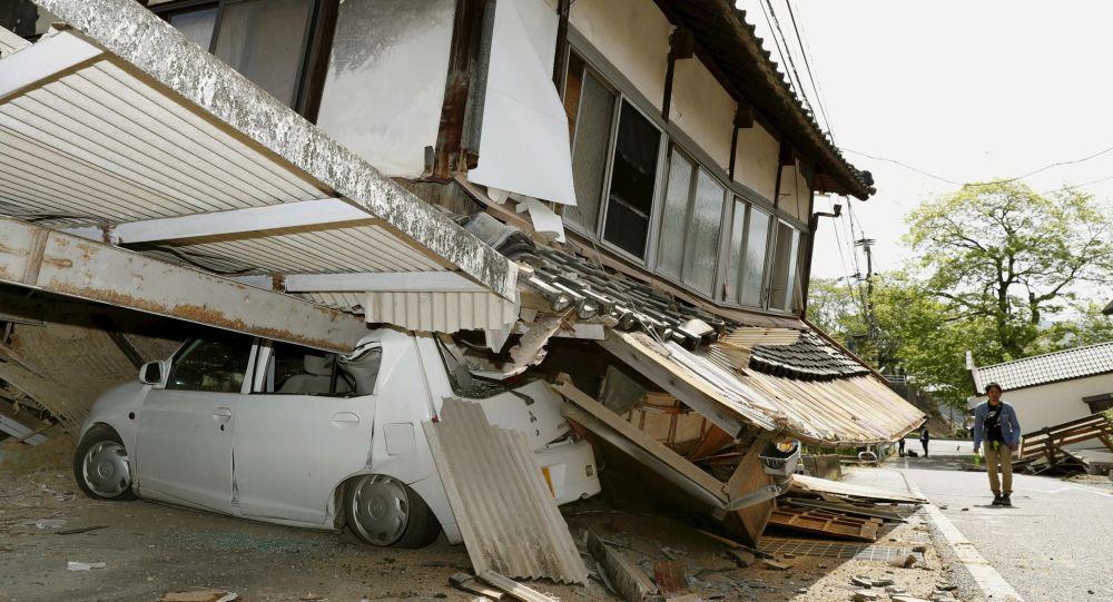 Землетрясение Япония