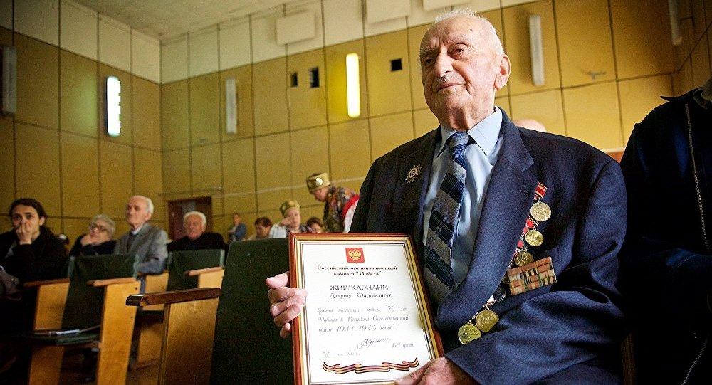 ветеран Давид Джишкариани