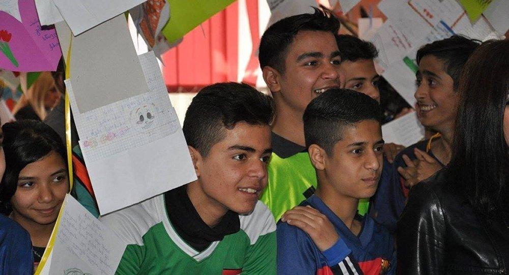дети из Ирака и Сирии