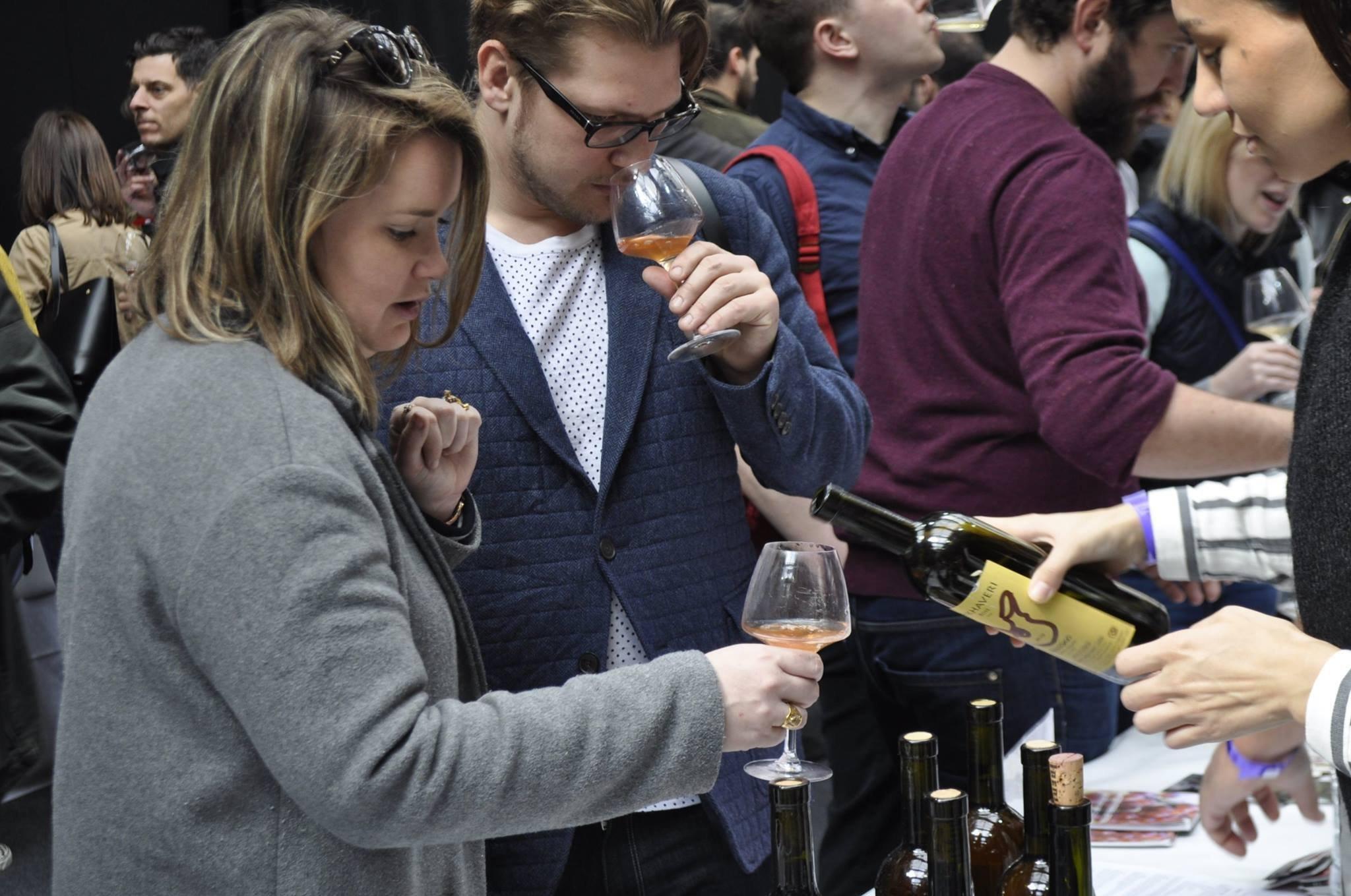 Грузинские вина на выставке Real Wine Fair-2016