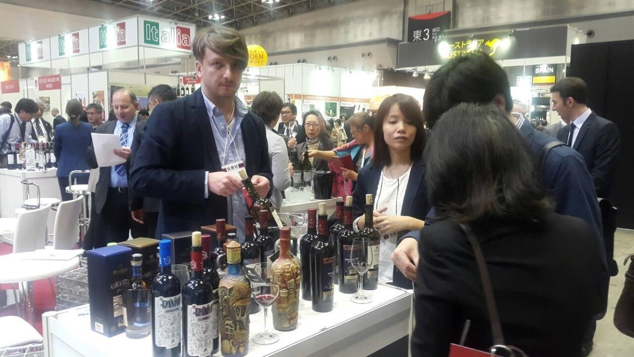 Грузинские вина на выставке Wine & Gourmet Japan 2016