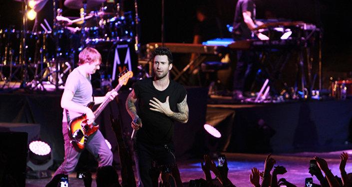 Концерт группы Maroon 5