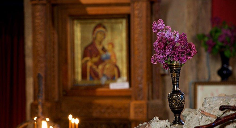 В монастыре Джвари