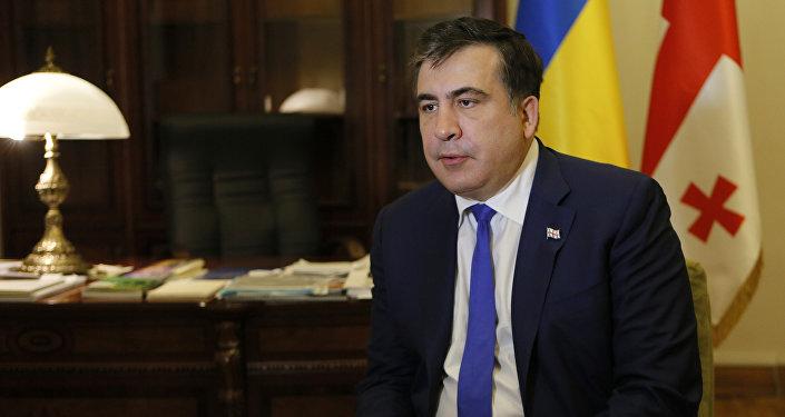 Экс-глава Одесской области и экс-президент Грузии Михаил Саакашвили