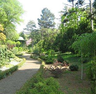 Национальный ботанический сад в Тбилиси