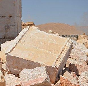 Сирия. Древние развалины Пальмиры