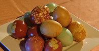 Как покрасить яйца на Пасху - четыре способа от профессионала