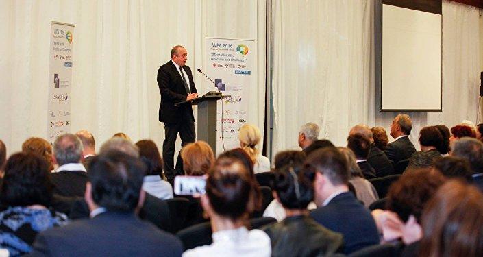 Президент Грузии на конференции Всемирной психиатрической ассоциации