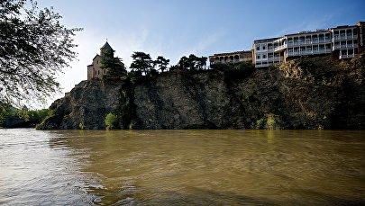 Старый Тбилиси. Набережная Куры