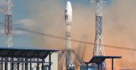 Видео первого запуска ракеты со спутниками с космодрома Восточный