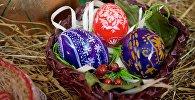 Декоративные пасхальные яйца. Сувениры к Пасхе