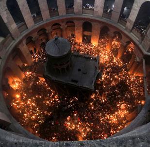 ღვთაებრივი ცეცხლის გარდამოსვლა