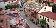 Дома в старом Тбилиси, улицы, ведущие к Мейдану
