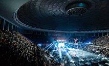 Тбилисский Дворец спорта. Турнир по смешанным единоборствам