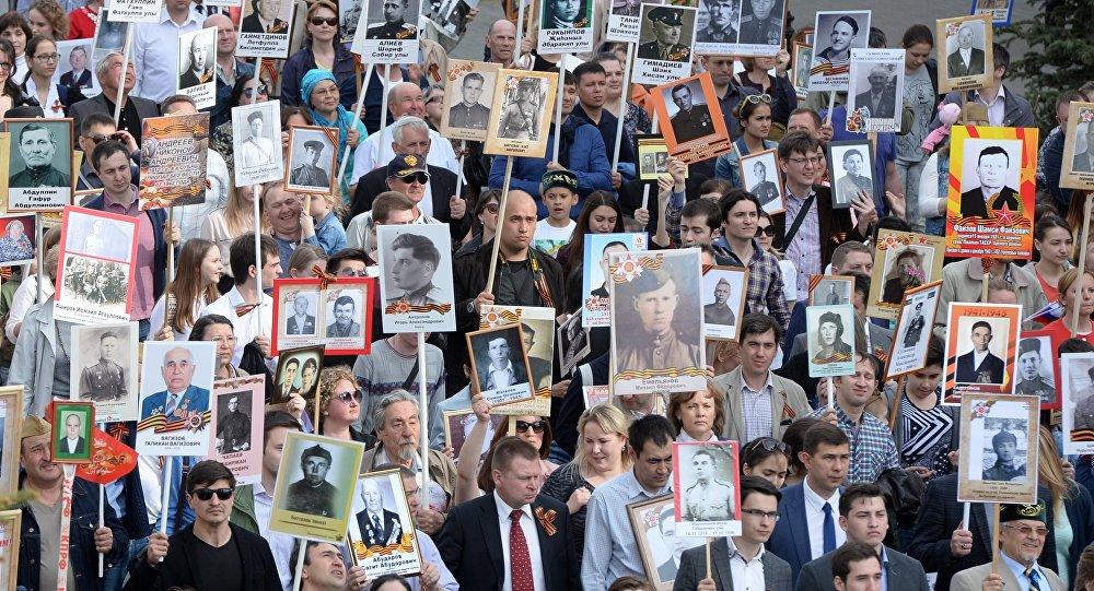 Около 16 млн граждан России приняли участие впраздновании Дня Победы