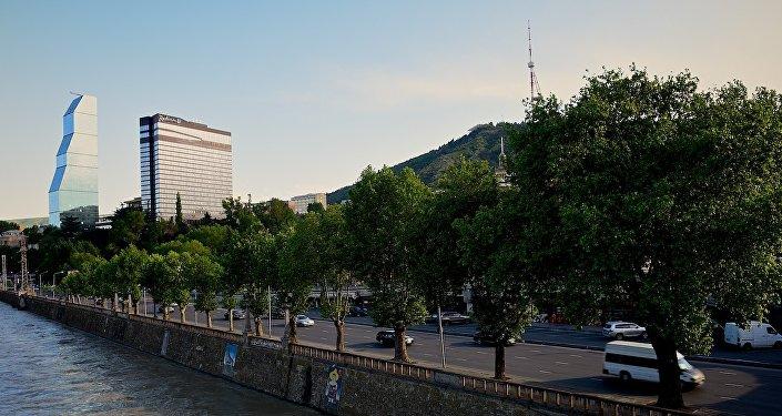 Тбилиси, набережная