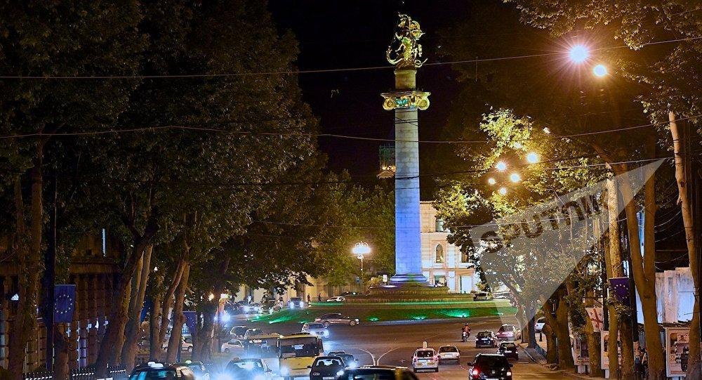 Площадь Свободы в Тбилиси