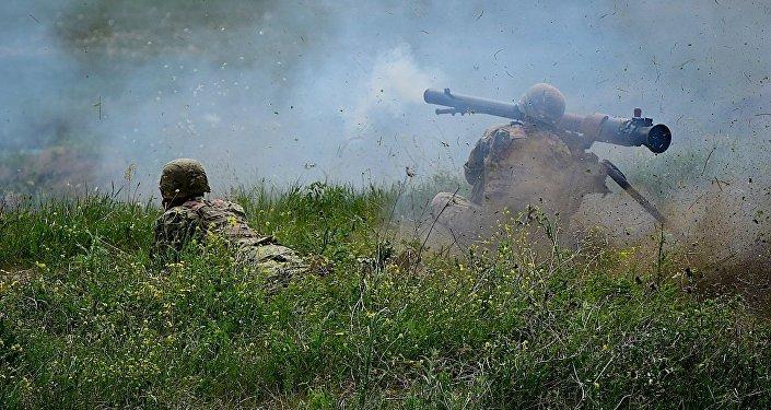 Полевые стрельбы в рамках учений Достойный партнер