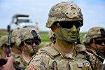 Американские военные на учениях Достойный партнер в Грузии