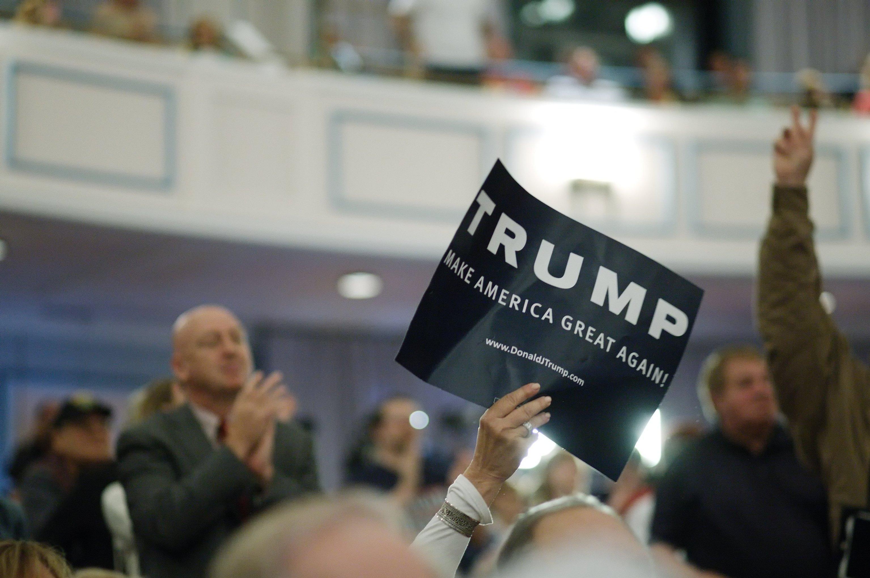 აშშ-ის პრეზიდენტობის  რესპუბლიკური პარტიის კანდიდატ დონალდ ტრამპის წინასაარჩევნო კამპანია.