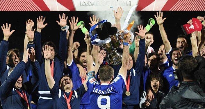 Динамо Тбилиси выиграл Кубок Грузии по футболу