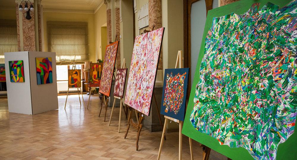 Выставка картин художника Левана Мосиашвили
