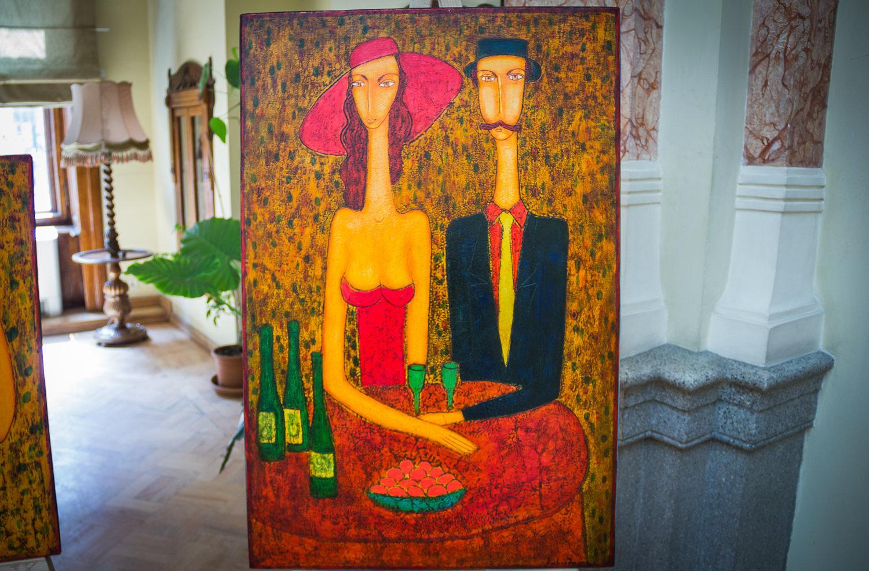 Встреча с вином, Левана Мосиашвили
