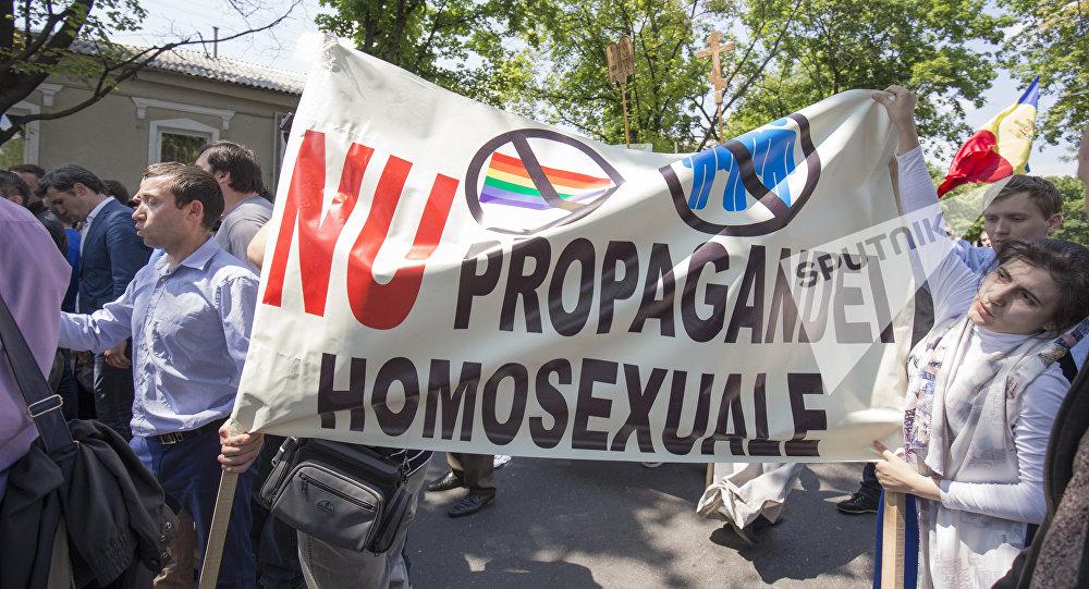 Марш ЛГБТ - сообщества в Кишиневе